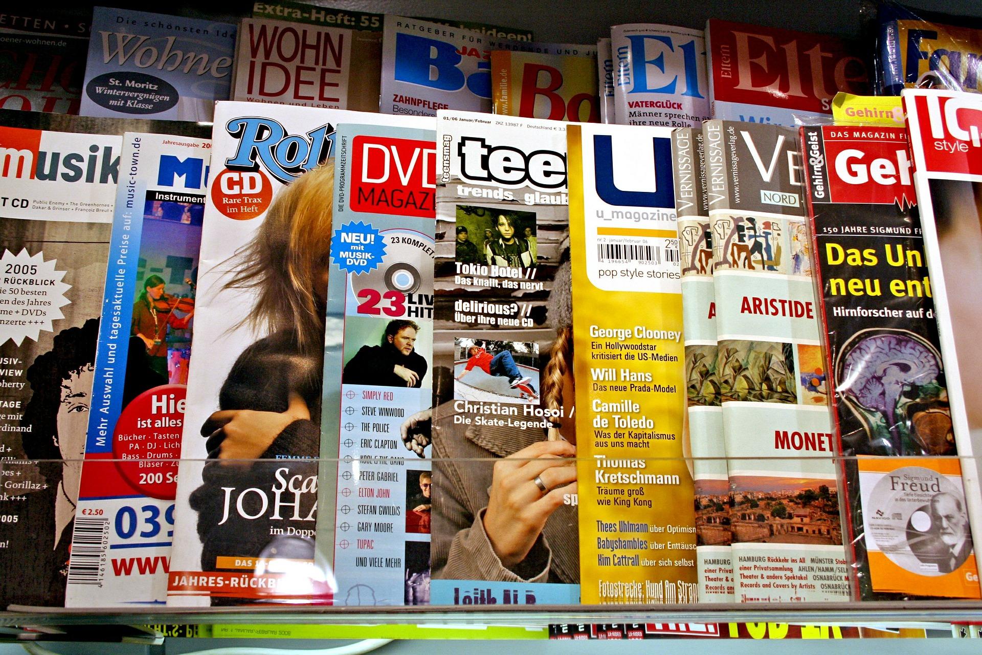 Musikzeitschriften Musikmagazin
